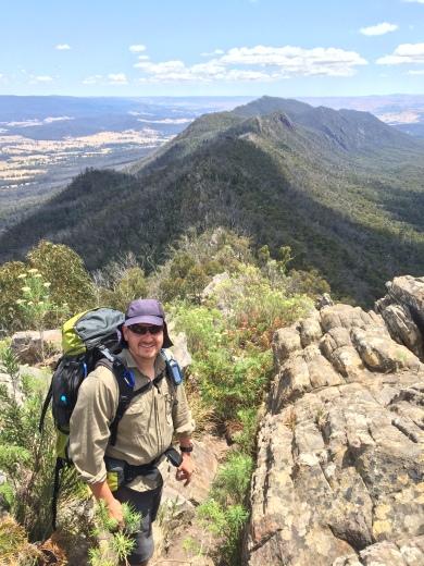 Looking across to Jawbone Peaks