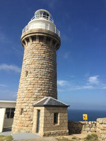 The lighthouse standing proud