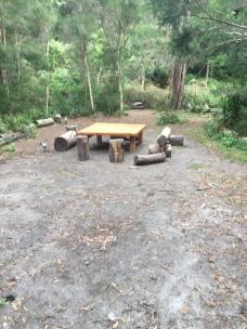 Open campsites